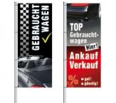 Fahnen & Spannbänder für KFZ-Handel