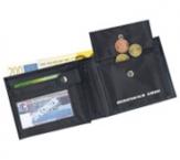 Geldbörsen und Schreibmappen