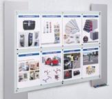 Info-Halterungen, Infosysteme & Infoboards