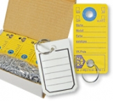 Schlüsselanhänger aus Karton