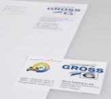 Visitenkarten und Briefpapier