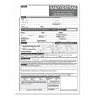Kaufvertrag KFZ für Gebrauchtwagen  ohne GW-Garantie