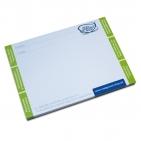 Notizblock 100 Blatt Format DIN A6, im RGS-Design