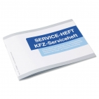 Serviceheft neutral KFZ-Scheckheft: universell einsetzbar