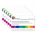 Visitenkarten Business: mit Ihrem Logo oder Werbetext individuelles Layout