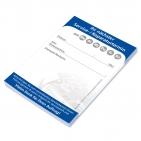 Terminzettel-Block für nächsten KFZ-Servicetermin, 50 Blatt