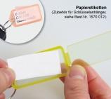 Papiereinlagen Zubehör Schlüsselanhänger Duo-Quick-Snap