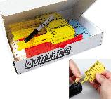 Schlüsselanhänger Autotag 2-Mix: Rasterverschluss, 200 Stk