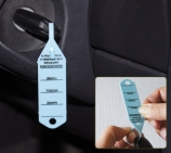 Schlüsselanhänger Autotag 3:  Schnellverschluß, 300 Stück