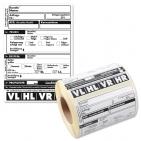 Rad-/Reifenaufkleber Universaletikett VL/VR/HL/HR für Reifen
