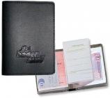 Führerscheintasche Lederfaser II: für Ausweis & Scheckkarte