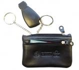 Schlüsseltasche TopClass XL: 2 Reißverschlüsse, 2 Ringe