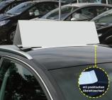 Autodachschild XXL mit Magneten, wetterfest, Blanko