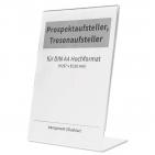 Prospektaufsteller L-Aufsteller, Tresenaufsteller DIN A4