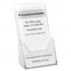 Prospektaufsteller 1/3 A4: für DIN Lang Flyer / Broschüren