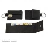 Blackmaxx Mini Börse Geldbörse im Pocketformat, mit Druckknopfverschluß