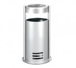 Standascher Tec-Art mit herausnehmbarem 20l Abfallbehälter aus Zink