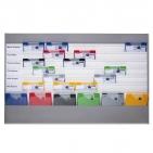 Plantafel ALLROUND: für DIN A4, mit 7 Planungsreihen (6+1) neutrale Ausführung