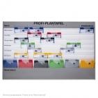 Plantafel PROFI: für DIN A4, mit 7 Planungsreihen (6+1) mit Zeitskala