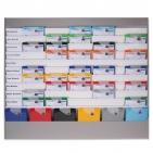 Plantafel ALLROUND: für DIN A4, mit 11 Planungsreihen (10+1) neutrale Ausführung