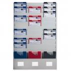 PLANTAFEL für DIN A4 COMPAKT-FLEX, im 2 cm-Raster verstellbar für variable Planung
