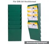 """Fächersystem """"MULTI"""" 6-Fächer für DIN A4 Hochformat Griffsicht-System"""