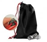 Radschraubenbeutel mit roter Kordel und Schnellverschluß