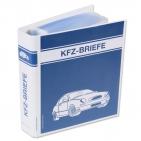 Ordner KFZ-Briefe mit 50 Klarsichthüllen, Format DIN A5