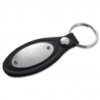 Schlüsselanhänger Oval Image mit Schlüsselring