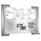 Infoboard Wall für 8 x DIN A4 Infoblätter, beschriftbar