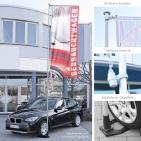 Fahnenmast Car: Teleskopmast bis 5,35 m: Ausleger 120 cm