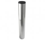 Bodenhülse für Fahnenmasten mit Außendurchmesser 76 mm