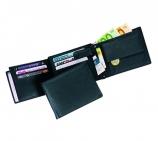 Geldbörse mit 11 Kreditkartenfächern und 4 Einsteckfächern