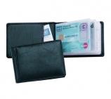 Kreditkartenetui für 12 Kreditkarten und Einsteckfach