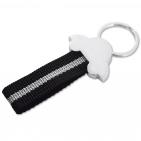 Schlüsselanhänger Race: mit hochwertigem Nylonband und Schlüsselring