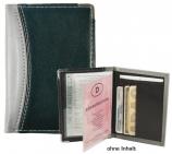 Ausweistasche Imola 3 Steckfächer für Scheckkarten 3 Schubfächer
