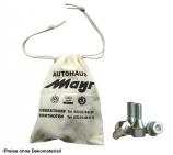 Radschrauben-Beutel aus Baumwolle mit Ihrem Werbeaufdruck