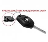 weitere Schlüssel Zubehör zu Klapprahmen RGS (VPE 15 Stk.)
