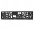Kennzeichenhalter EASY-Comfort-RGS mit Schiebeverschluss mit 1-Farbdruck