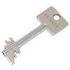 Zusatzschlüssel Doppelbart-Tresor-Sicherheitsschlüssel