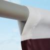 Fahnenkonfektion 30 mm Hohlsaum zu Fahne /Sonderanfertig.