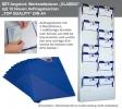 Plantafel-Set 1: Werkstattplaner mit 10 Auftragstaschen Top-Quality DIN A4