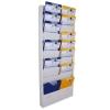 Planungstafel Werkstattplaner Classic: 10 Reihen, für DIN A4 Dokumente
