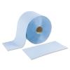 Putzrolle blau 2-lagig: 1000 Blatt  22 x 38 cm
