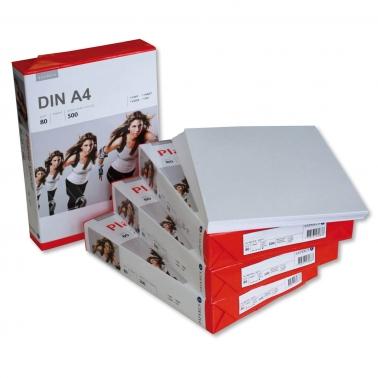Kopierpapier DIN A4 für Laser-u. Tintenstrahldrucker, VPE = 500 Blatt