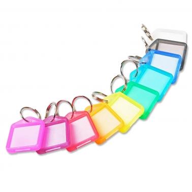 Schlüsselanhänger Easy: 2-seitig beschriftbar, aufklappbar