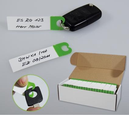 Schlüsselanhänger Quickly: mit Schnellverschluss