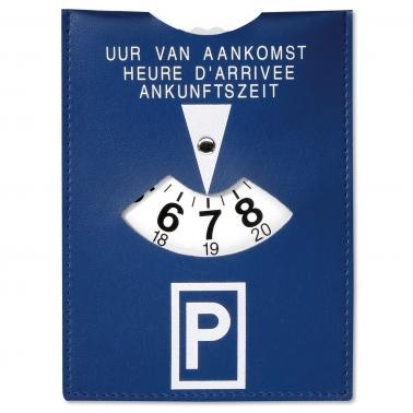 Parkscheibe Duo: mit praktischem Parkzettelhalter 2-in-1 Produkt