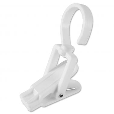 PVC-Klammer Flex: Haken und Klammer um 360° drehbar