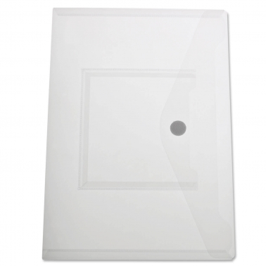 Dokumententasche A4 mit Zusatzfach innen, Klettverschluß
